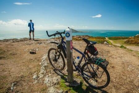 Mountain Bike on Snowdonia
