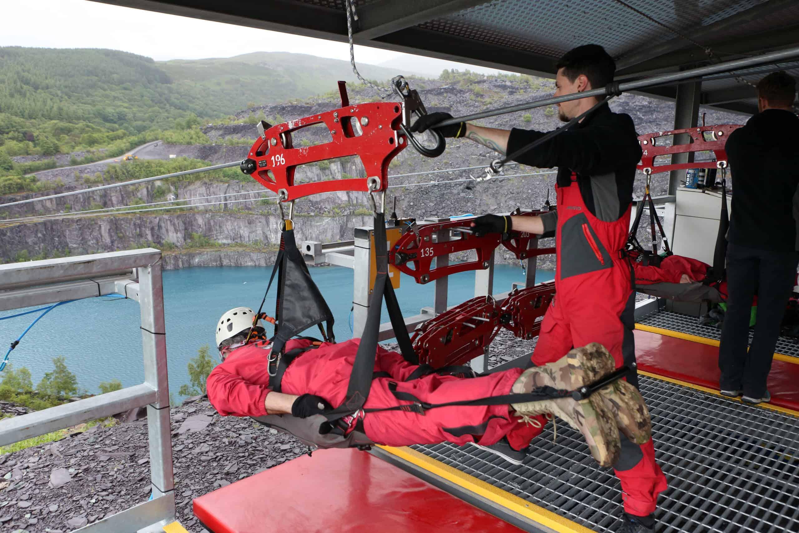 Adrenaline-Filled Adventure Breaks in Wales - Zip Wire in Snowdonia