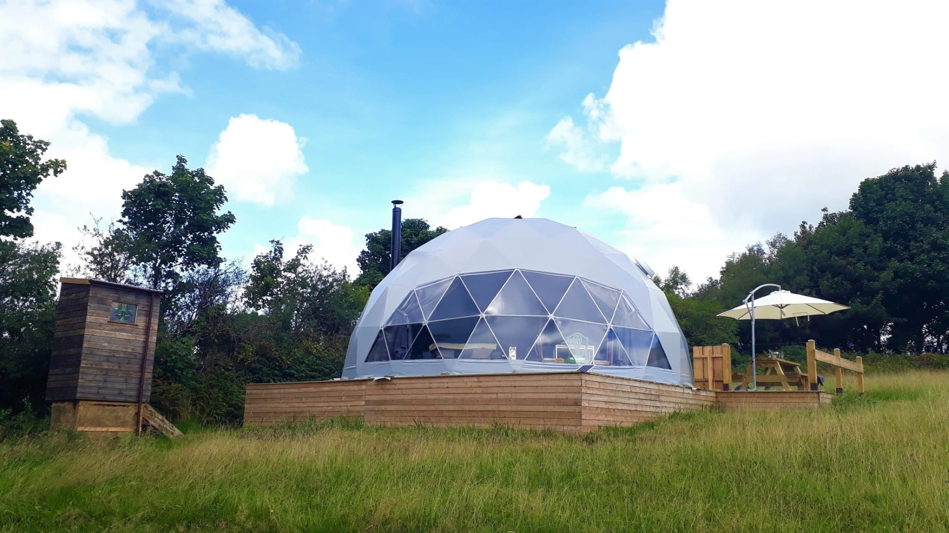 eco friendly dome at Wild Wellingtons