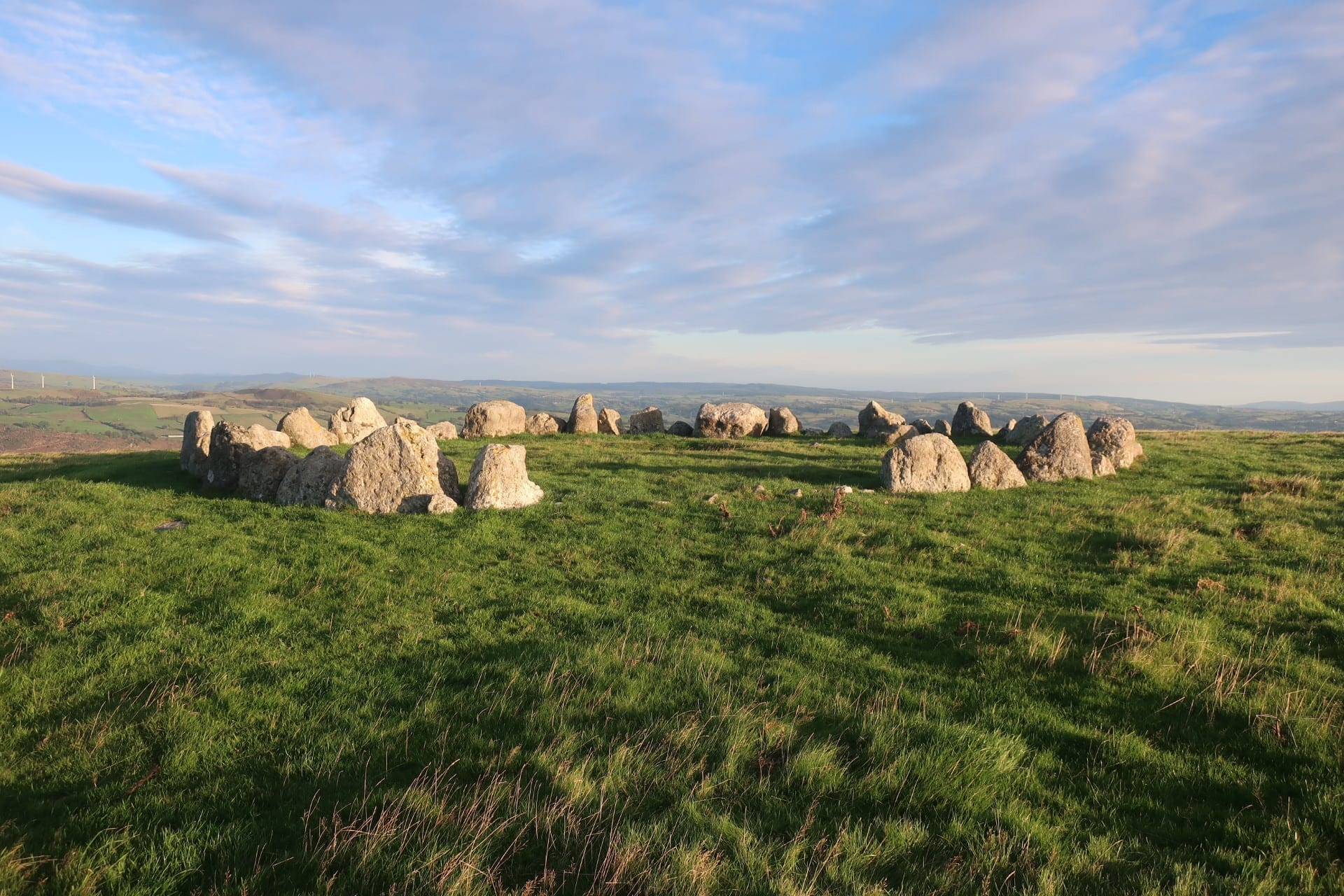 Stone Circle in Wales