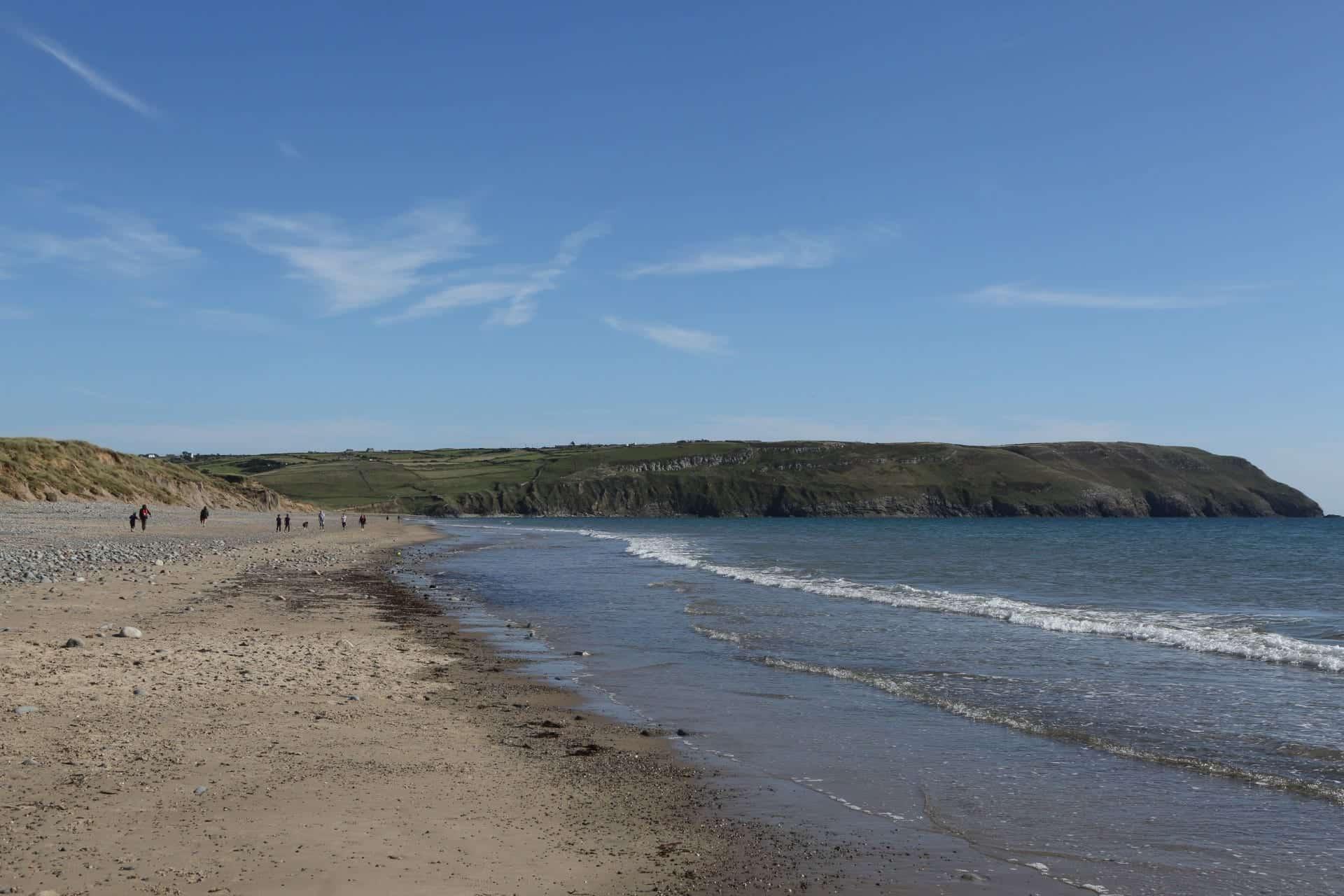 Porth Neigwl Beach in North Wales