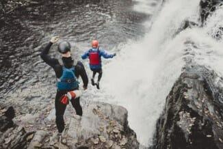 Adrenaline-Filled Adventure Breaks in Wales - Cliff Jumping
