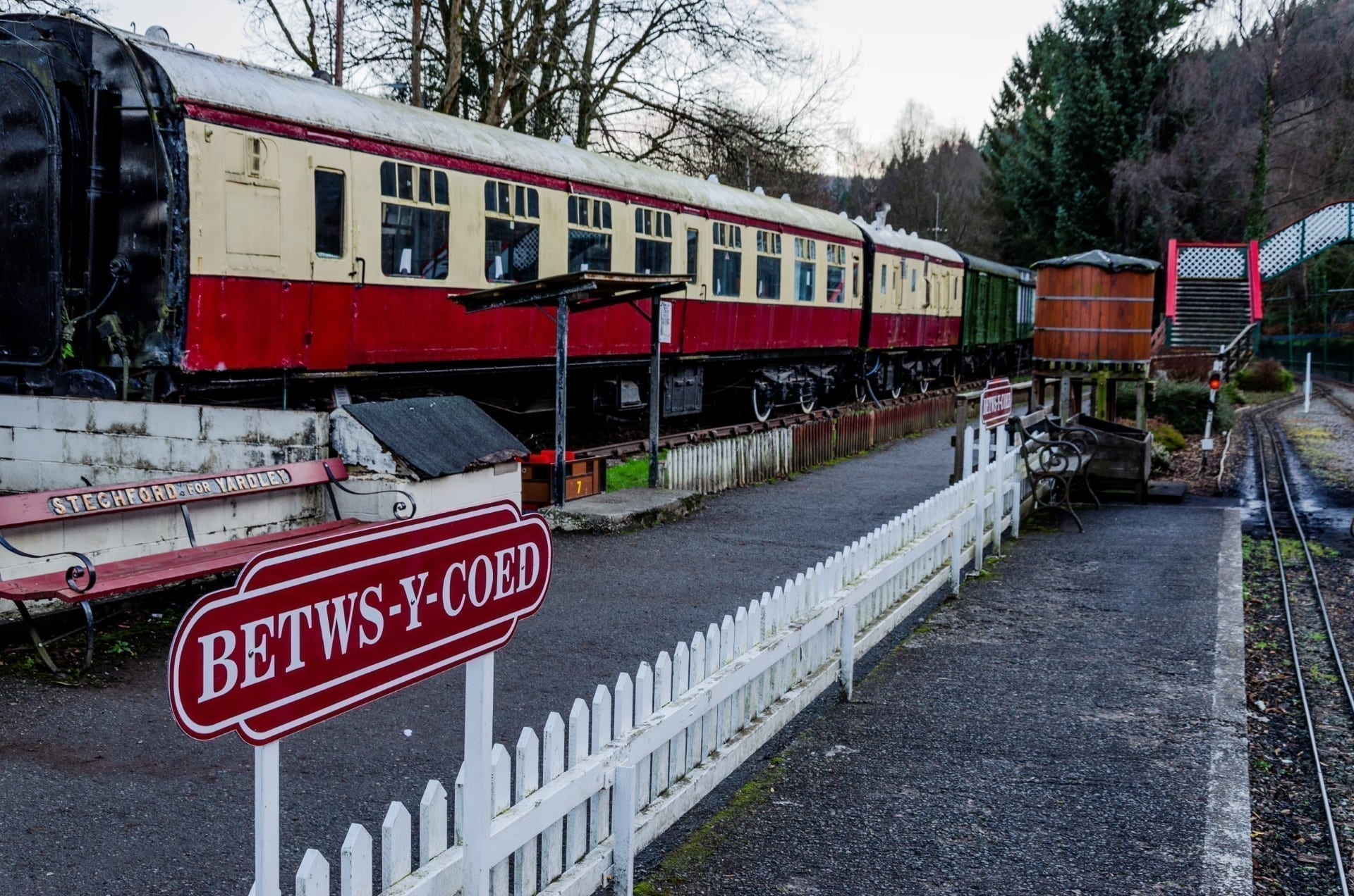 Railway museum in North Wales
