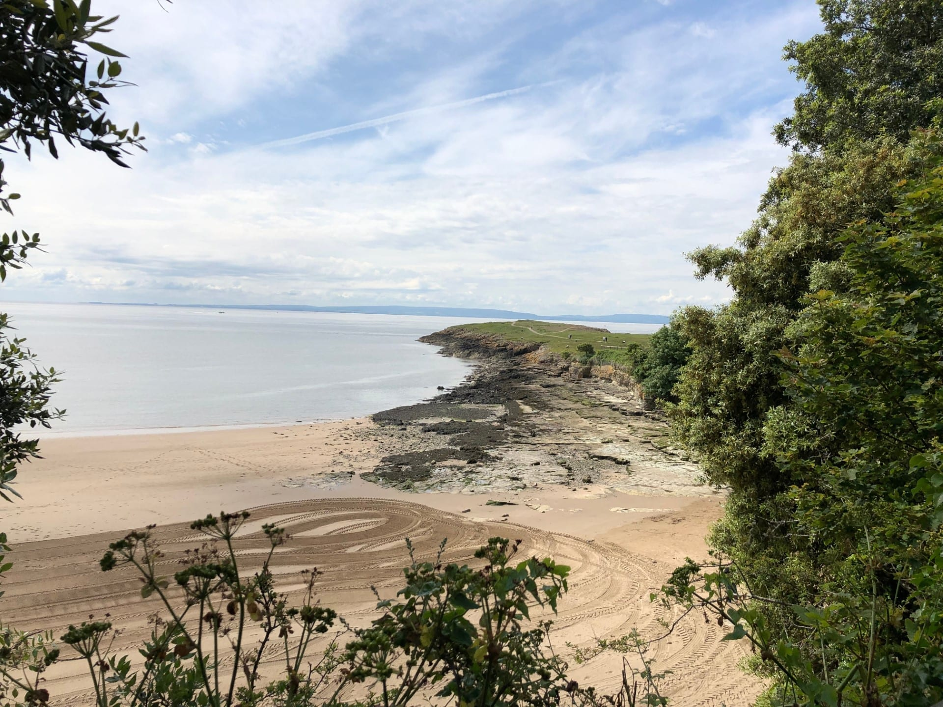 Bendricks Beach in Barry, South Wales.