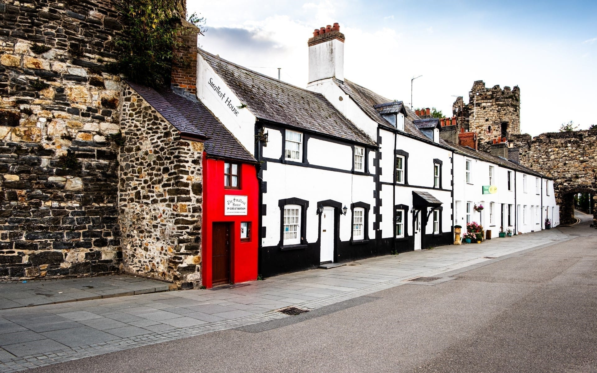 Quay House – the smallest house in Great Britain