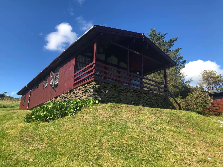 Self-Catering Log Cabin in Snowdonia